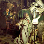 The Alchemist Discovering Phosphorus - Joseph Wright